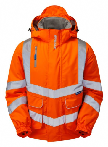 Pulsar PR496 Rail Spec Padded Bomber Jacket (High Vis Orange)